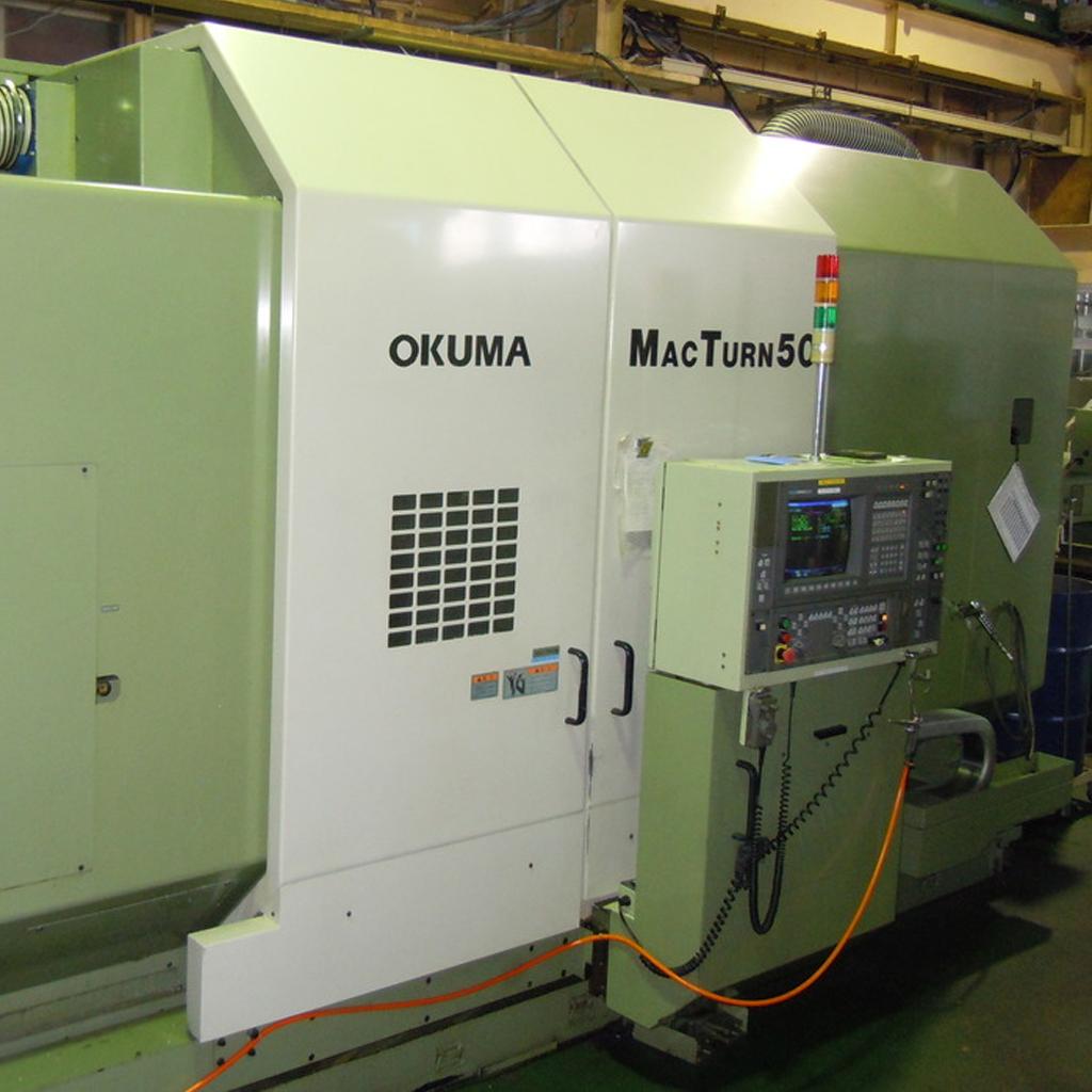複合加工機 MAC TURN 50