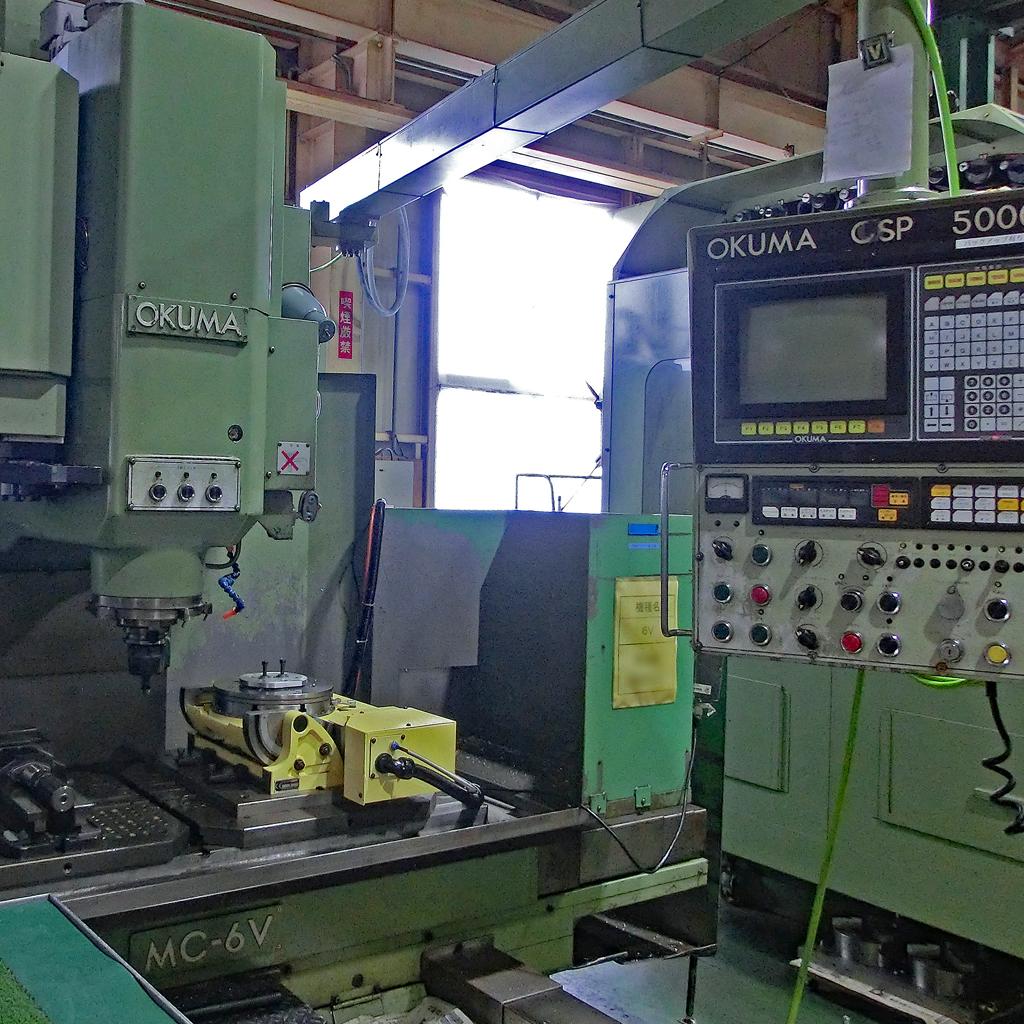 立型マシニングセンタ MC-6V